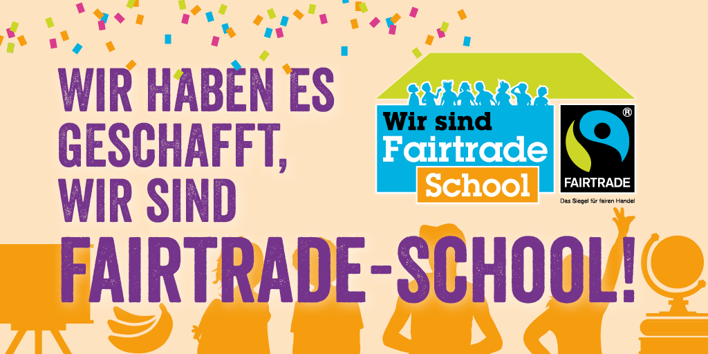 Siegel der Initiative Fairtrade-School